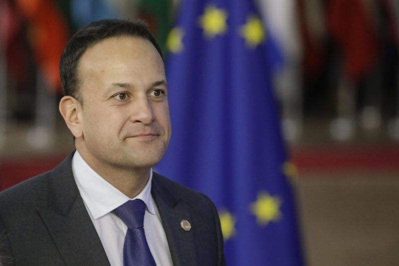 Ireland Prime Minister Leo Varadkar pictured on the first day of the EU summit meeting, Wednesday 17 October 2018, at the European Union headquarters in Brussels. BELGA PHOTO THIERRY ROGE