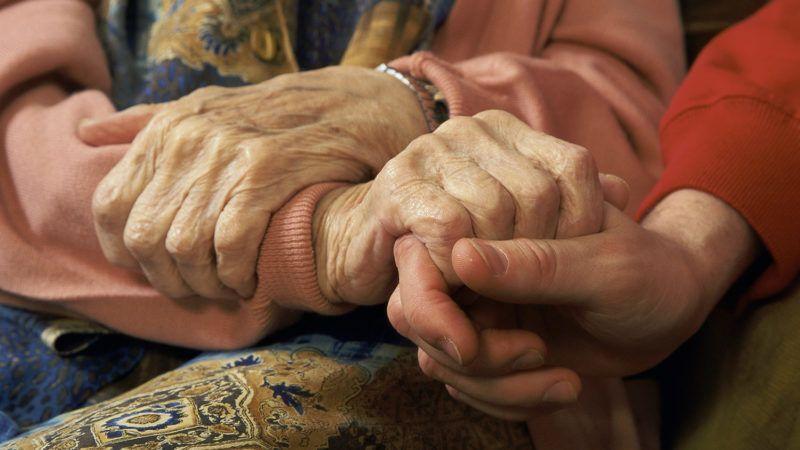 GERONTOLOGY Elderly patient with doctor. MENDIL / BSIP