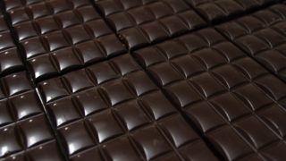 Szerencs, 2013. február 13. Táblás csokoládé a Szerencsi BonBon Kft. csokoládéüzemében 2013. február 13-án. MTI Fotó: Vajda János