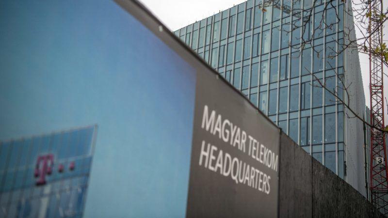 Budapest, 2017. november 8. A Magyar Telekom épülõ székháza Budapesten, a Könyves Kálmán körúton 2017. november 8-án. MTI Fotó: Balogh Zoltán