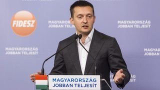 Budapest, 2014. november 4. Rogán Antal, a Fidesz frakcióvezetõje sajtótájékoztatót tart a képviselõcsoport ülése után a Képviselõi Irodaházban 2014. november 4-én. MTI Fotó: Szigetváry Zsolt
