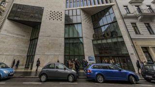 Budapest, 2018. december 3.A CEU (Central-European University) V. kerületi Nádor utcai épülete 2018. december 3-án. A CEU minden amerikai akkreditációjú programját Bécsben indítja el 2019 szeptemberében - közölte az egyetem ezen a napon, jelezve: az intézmény megőrzi magyar egyetemi akkreditációját.MTI/Szigetváry Zsolt