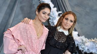 LOS ANGELES, CA - DECEMBER 09:  Vanessa Hudgens and Jennifer Lopez attend the photo call for STX Films' 'Second Act' at Four Seasons Hotel Los Angeles at Beverly Hills on December 09, 2018 in Los Angeles, California.  (Photo by Axelle/Bauer-Griffin/FilmMagic)