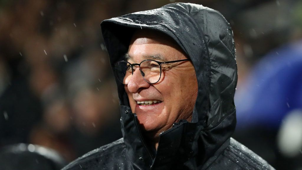 LONDON, ENGLAND - DECEMBER 15:  Claudio Ranieri, Manager of Fulham looks on prior to the Premier League match between Fulham FC and West Ham United at Craven Cottage on December 15, 2018 in London, United Kingdom.  (Photo by Catherine Ivill/Getty Images)