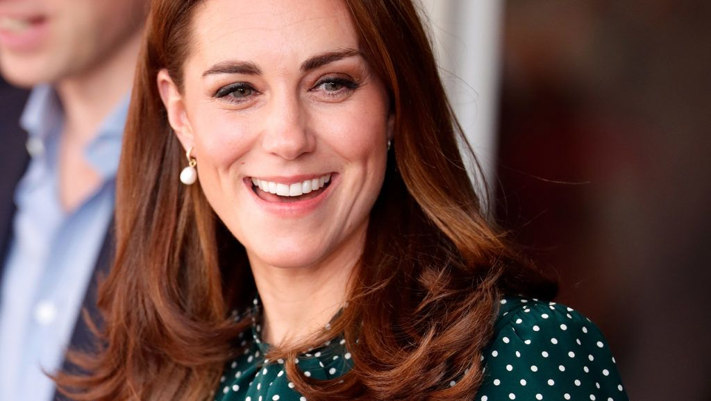 LONDON, UNITED KINGDOM - DECEMBER 11: (EMBARGOED FOR PUBLICATION IN UK NEWSPAPERS UNTIL 24 HOURS AFTER CREATE DATE AND TIME) Catherine, Duchess of Cambridge visits Evelina London Children's Hospital on December 11, 2018 in London, England. (Photo by Max Mumby/Indigo/Getty Images)