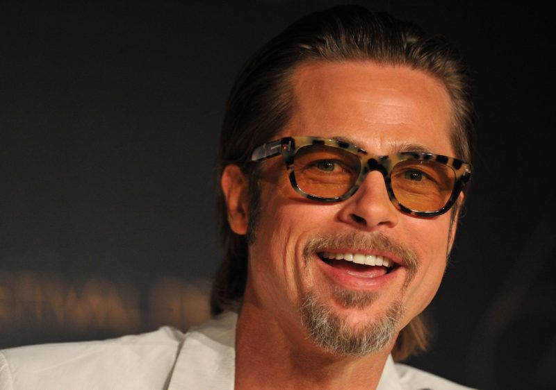"""CANNES, FRANCE - MAY 16:  Actor Brad Pitt attends the """"The Tree Of Life"""" press conference during the 64th Annual Cannes Film Festival at Palais des Festivals on May 16, 2011 in Cannes, France.  (Photo by Pascal Le Segretain/Getty Images)"""