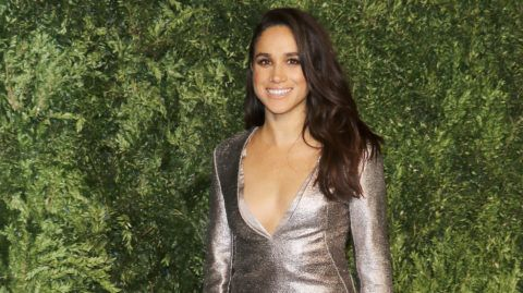 NEW YORK, NY - NOVEMBER 02: Model/actress Meghan Markle attends the 12th annual CFDA/Vogue Fashion Fund Awards at Spring Studios on November 2, 2015 in New York City.  (Photo by Jim Spellman/WireImage)
