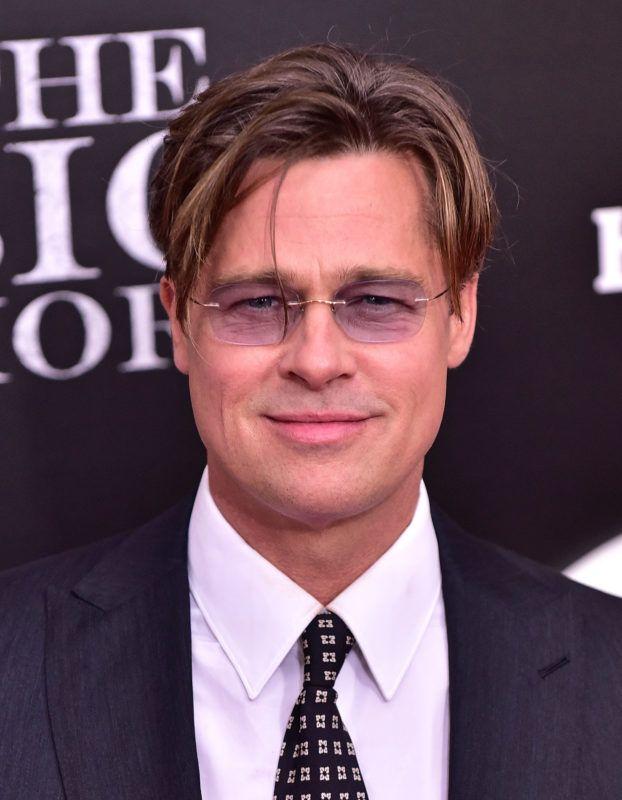 "NEW YORK, NY - NOVEMBER 23:  Brad Pitt attends ""The Big Short"" New York Premiere at Ziegfeld Theater on November 23, 2015 in New York City.  (Photo by James Devaney/WireImage)"
