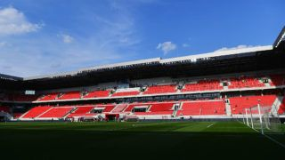 TRNAVA, SLOVAKIA - SEPTEMBER 04:  A general view of the stadium prior to the 2018 FIFA World Cup Group F qualifying match between Slovakia and England at City Arena on September 4, 2016 in Trnava, Slovakia.  (Photo by Dan Mullan/Getty Images)