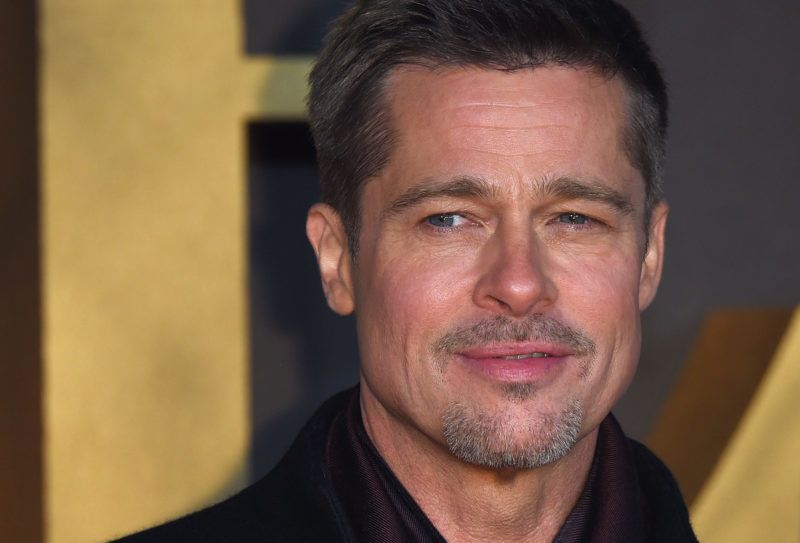 """LONDON, ENGLAND - NOVEMBER 21:  Brad Pitt attends the UK Premiere of """"Allied"""" at Odeon Leicester Square on November 21, 2016 in London, England.  (Photo by Anthony Harvey/Getty Images)"""