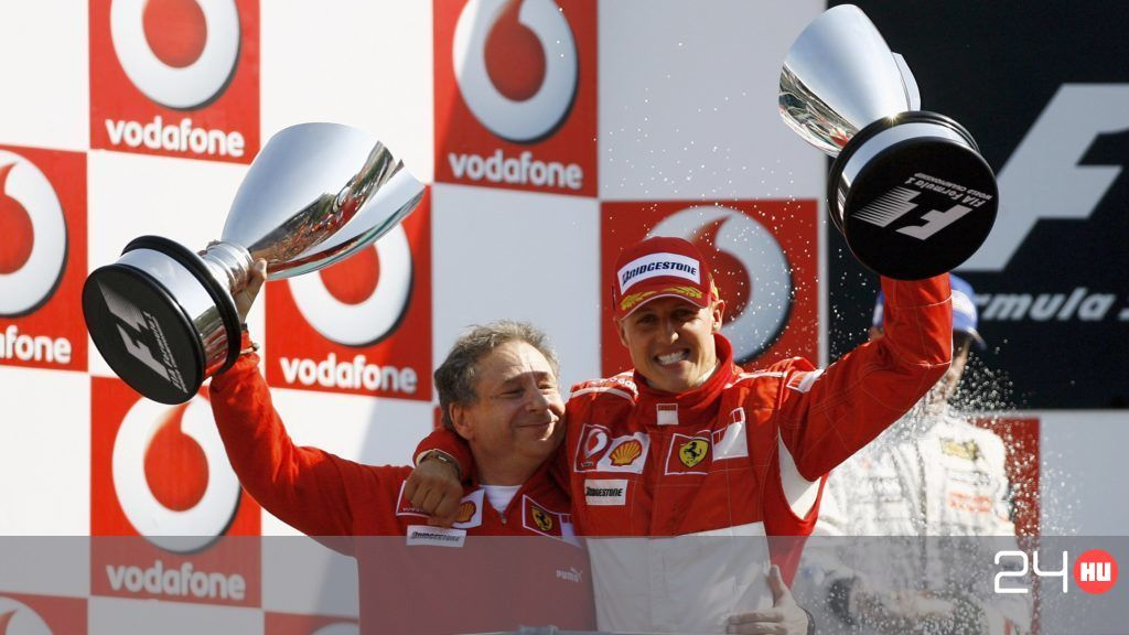 Jean Todt Michael Schumacherrel nézte a Brazil Nagydíjat