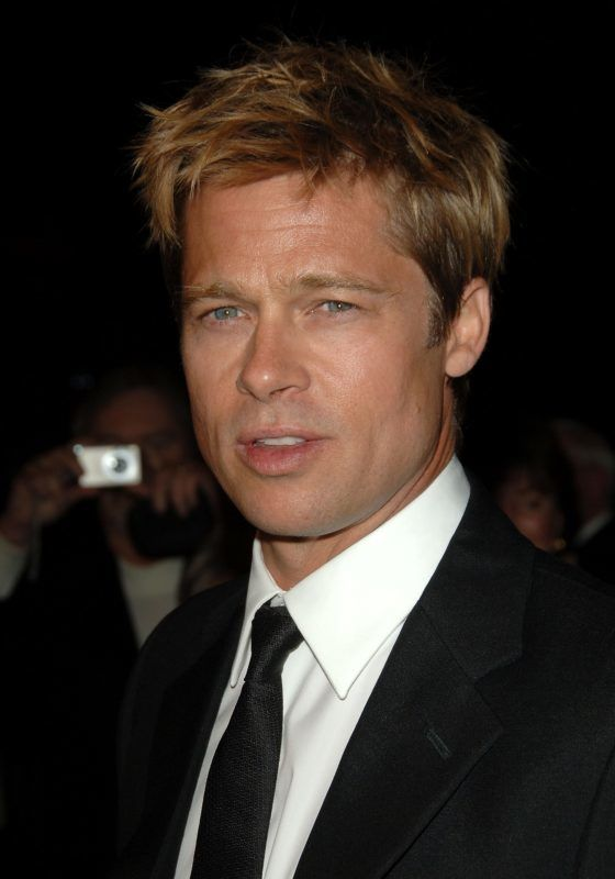 PALM SPRINGS, CA - JANUARY 06:  Actor Brad Pitt arrives at the 18th Annual Palm Springs International Film Festival 2007 Gala Awards Presentation held at the Palm Springs Convention Center on January 6, 2007 in Palm Springs, California.  (Photo by Stephen Shugerman/Getty Images)