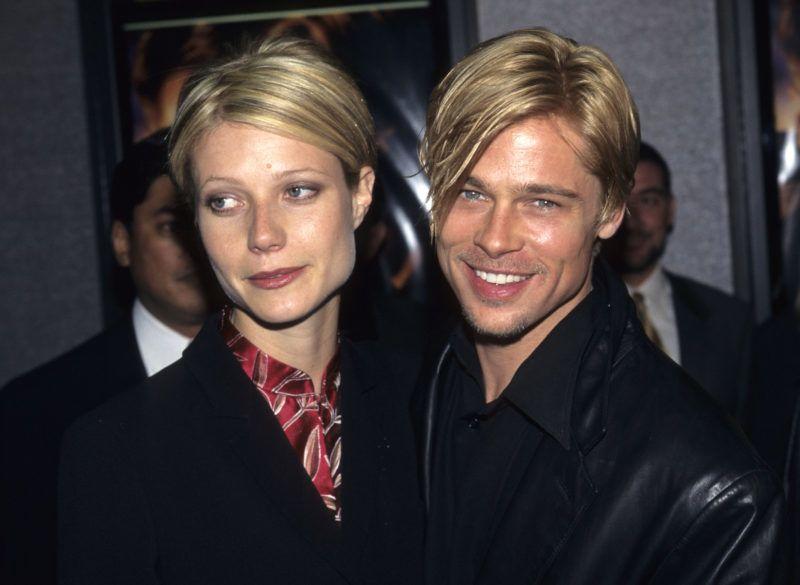 Gwyneth Paltrow and Brad Pitt (Photo by Kevin Mazur Archive/WireImage)