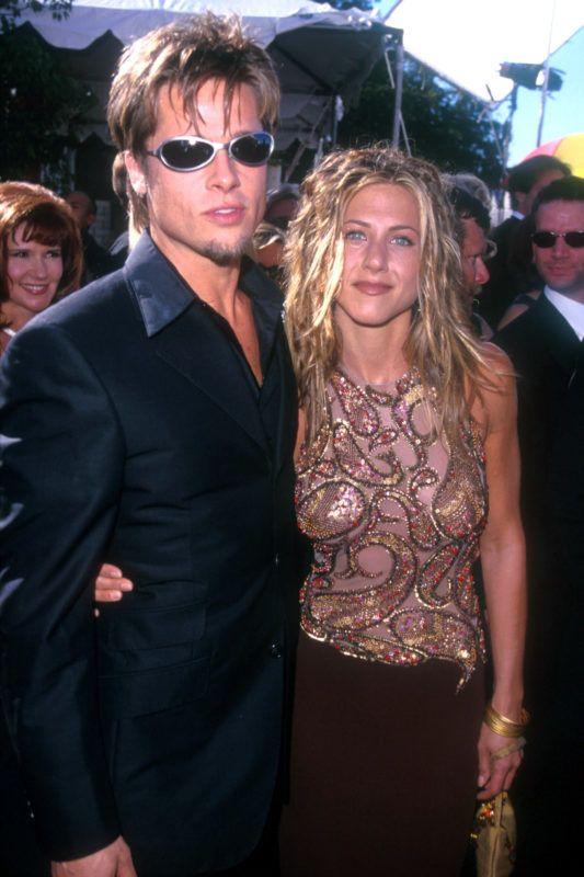 Brad Pitt & Jennifer Aniston (Photo by SGranitz/WireImage)