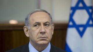 Jeruzsálem, 2015. augusztus 16. Benjámin Netanjahu izraeli miniszterelnök a heti kabinetülést tartja jeruzsálemi hivatalában 2015. augusztus 16-án. (MTI/EPA/Pool/Abir Szultan)