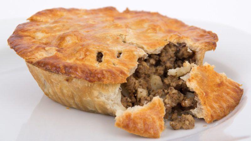 meat pie tourtière