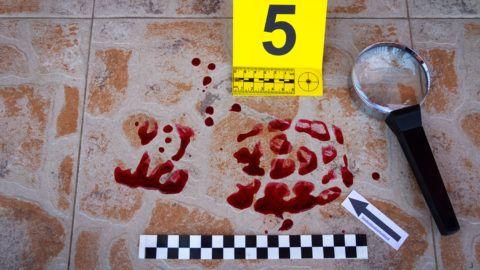 Found at the crime scene