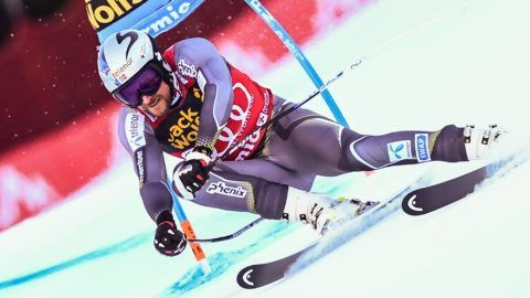 Norway's Aksel Lund Svindal competes in the FIS Alpine World Cup Men Super G on December 29, 2018 in Bormio, Italian Alps. (Photo by Miguel MEDINA / AFP)