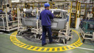 Esztergom, 2012. április 20. Beszerelésre váró ajtók a Magyar Suzuki Zrt. esztergomi gyárában. A kép csak a gyár mûködését bemutató illusztrációként használható fel. MTI Fotó: Kovács Attila