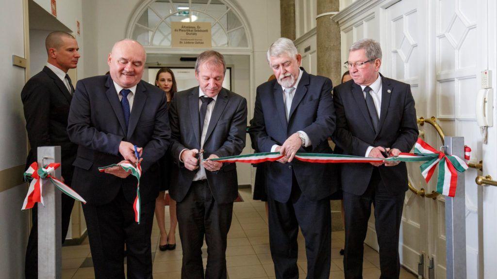 A szombathelyi kórházban 1,1 milliárd forint értékű fejlesztés valósult meg