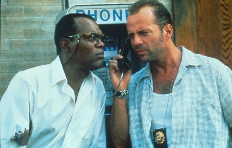 Une journée en enfer  Die Hard: With a Vengeance / Die Hard III   Year: 1995 - usa  Samuel L. Jackson, Bruce Willis   Director: John McTiernan