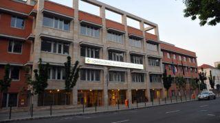 Budapest, 2011. május 19. A Honvédkórház - Állami Egészségügyi Központ épülete Budapesten. MTI Fotó: Lakatos Péter