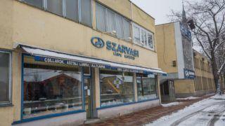 Szarvas, 2019. január 25. A Szarvasi Vas-Fémipari Zrt. üzeme és boltja Szarvason 2019. január 25-én. Az ötvenes évek óta mûködõ gyár befejezi termelését. A társaság nem tudja elkerülni a teljes létszámleépítést, több mint négyszáz embernek mondtak fel - közölte a cég a Klubrádióval. MTI/Rosta Tibor