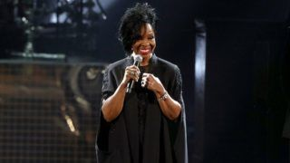 LOS ANGELES, CA - OCTOBER 09:  Gladys Knight performs onstage during the 2018 American Music Awards at Microsoft Theater on October 9, 2018 in Los Angeles, California.  (Photo by Frederick M. Brown/Getty Images)