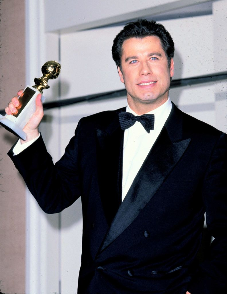 John Travolta during 53rd Annual Golden Globe Awards at Beverly Hilton Hotel in Beverly Hills, California, United States. (Photo by SGranitz/WireImage)