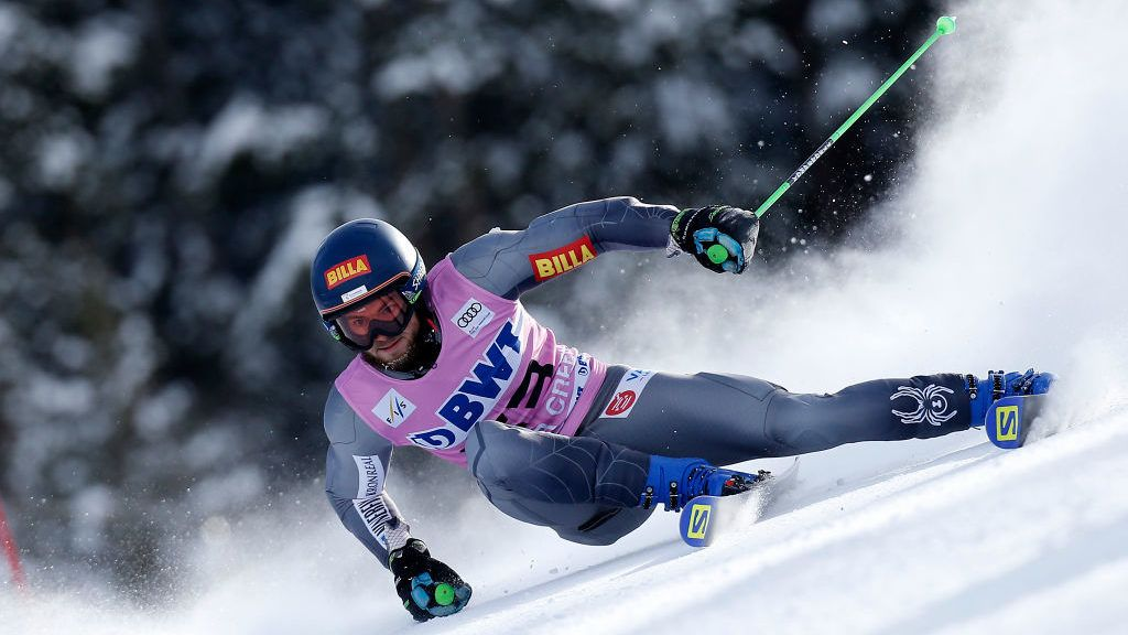 BEAVER CREEK, USA - DECEMBER 2: Andreas Zampa of Slovakia competes during the Audi FIS Alpine Ski World Cup Men's Giant Slalom on December 2, 2018 in Beaver Creek USA. (Photo by Alexis Boichard/Agence Zoom/Getty Images)