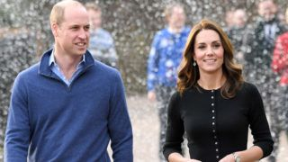 LONDON, ENGLAND - DECEMBER 04:  Prince William, Duke of Cambridge and Catherine, Duchess of Cambridge host a Christmas party for families of military personnel deployed in Cyprus at Kensington Palace on December 4, 2018 in London, England.  (Photo by Karwai Tang/WireImage)