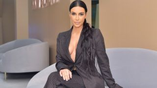COSTA MESA, CA - DECEMBER 04:  Kim Kardashian West attends the KKW Beauty Pop-Up at South Coast Plaza on December 4, 2018 in Costa Mesa, California.  (Photo by Stefanie Keenan/Getty Images for KKW Beauty)