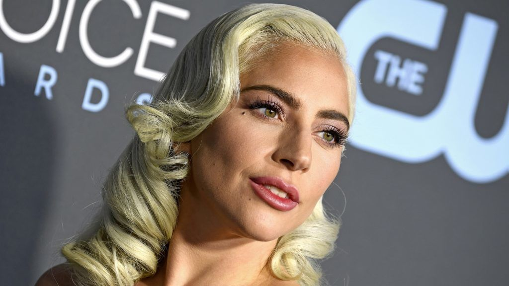 SANTA MONICA, CA - JANUARY 13:  Lady Gaga attends The 24th Annual Critics' Choice Awards at Barker Hangar on January 13, 2019 in Santa Monica, California.  (Photo by Frazer Harrison/Getty Images for The Critics' Choice Awards)