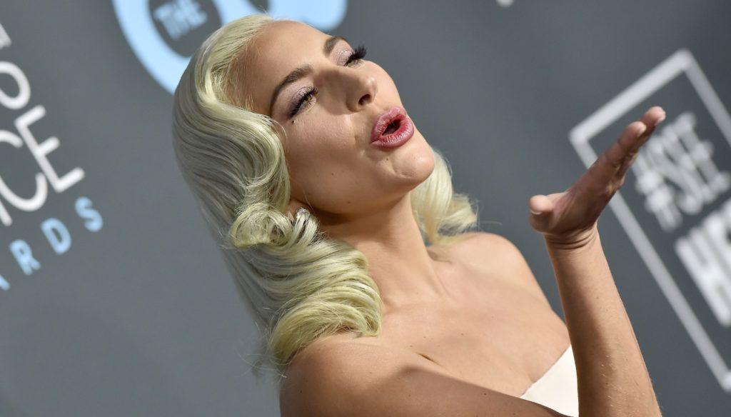 SANTA MONICA, CA - JANUARY 13:  Lady Gaga attends the 24th annual Critics' Choice Awards at Barker Hangar on January 13, 2019 in Santa Monica, California.  (Photo by Axelle/Bauer-Griffin/FilmMagic)