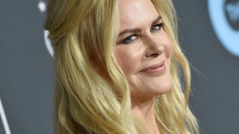 SANTA MONICA, CA - JANUARY 13:  Nicole Kidman attends the 24th annual Critics' Choice Awards at Barker Hangar on January 13, 2019 in Santa Monica, California.  (Photo by Axelle/Bauer-Griffin/FilmMagic)