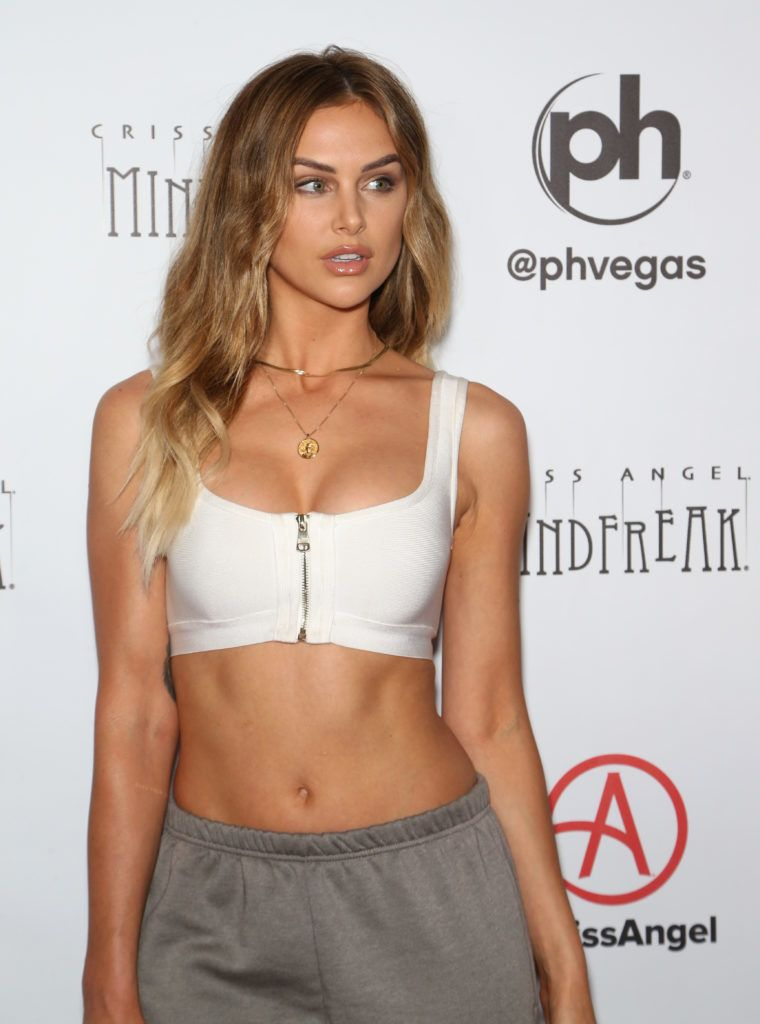 """LAS VEGAS, NEVADA - JANUARY 19: Television personality Lala Kent attends the grand opening of """"Criss Angel MINDFREAK"""" at Planet Hollywood Resort & Casino on January 19, 2019 in Las Vegas, Nevada. (Photo by Gabe Ginsberg/FilmMagic)"""