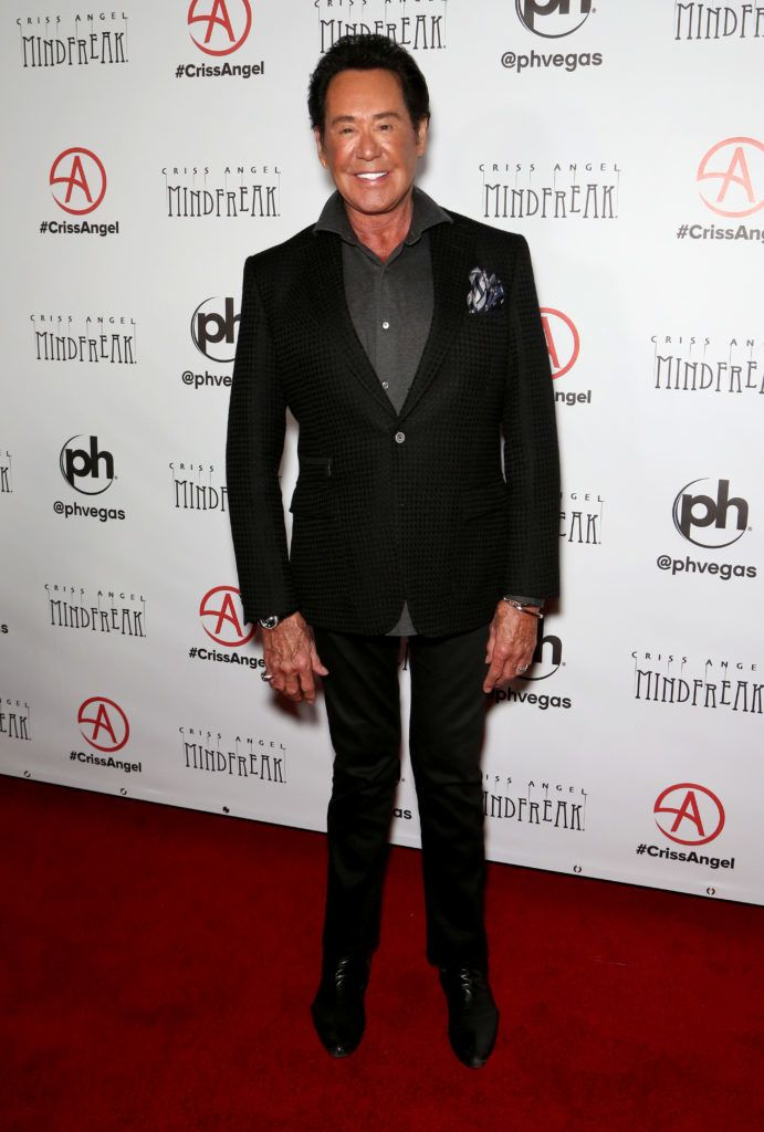 "LAS VEGAS, NEVADA - JANUARY 19: Entertainer Wayne Newton attends the grand opening of ""Criss Angel MINDFREAK"" at Planet Hollywood Resort & Casino on January 19, 2019 in Las Vegas, Nevada. (Photo by Gabe Ginsberg/FilmMagic)"