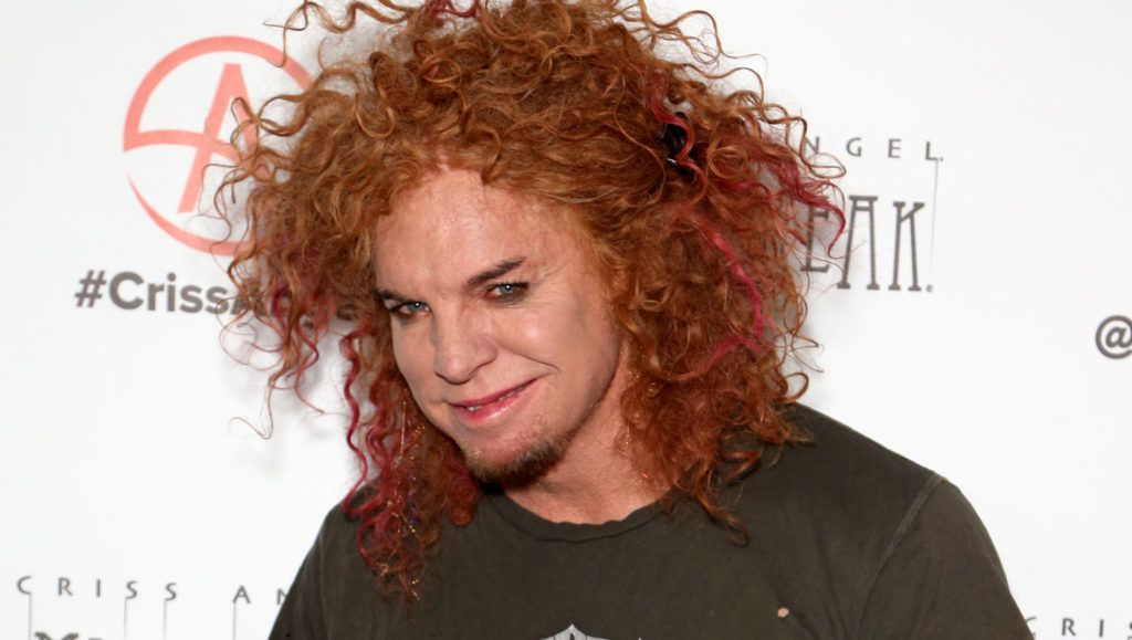 """LAS VEGAS, NEVADA - JANUARY 19: Comedian Carrot Top attends the grand opening of """"Criss Angel MINDFREAK"""" at Planet Hollywood Resort & Casino on January 19, 2019 in Las Vegas, Nevada. (Photo by Gabe Ginsberg/FilmMagic)"""