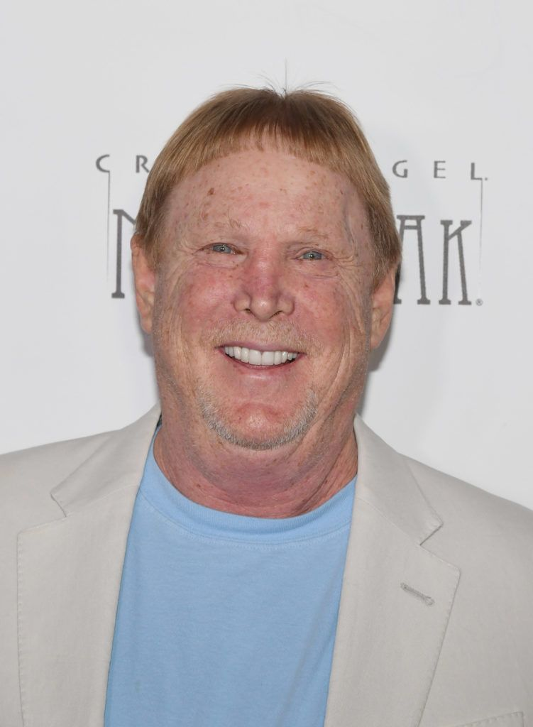 """LAS VEGAS, NEVADA - JANUARY 19:  Oakland Raiders owner and managing general partner Mark Davis attends the grand opening of """"Criss Angel MINDFREAK"""" at Planet Hollywood Resort & Casino on January 19, 2019 in Las Vegas, Nevada.  (Photo by Ethan Miller/Getty Images for Planet Hollywood Resort & Casino)"""