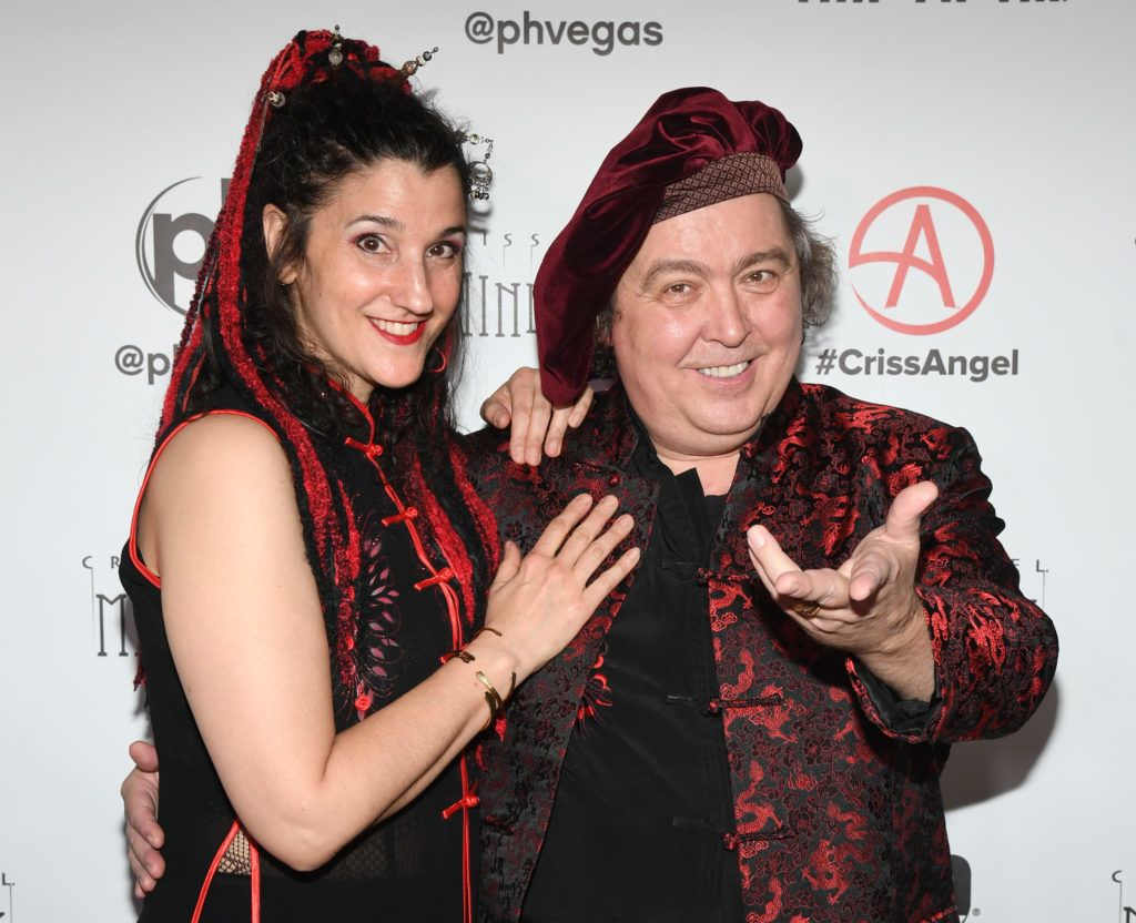 """LAS VEGAS, NEVADA - JANUARY 19:  Magicians Abigail McBride (L) and Jeff McBride attend the grand opening of """"Criss Angel MINDFREAK"""" at Planet Hollywood Resort & Casino on January 19, 2019 in Las Vegas, Nevada.  (Photo by Ethan Miller/Getty Images for Planet Hollywood Resort & Casino)"""
