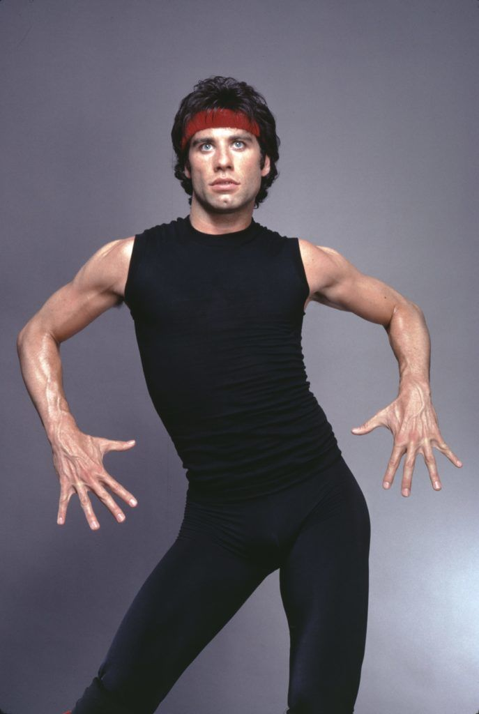 Actor, singer, dancer John Travolta as Tony Manero in 'Staying Alive' in 1983. (Photo by Jack Mitchell/Getty Images)