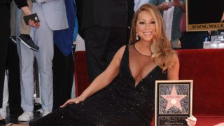 HOLLYWOOD, CA - AUGUST 05:  Mariah Carey is honored with a star on the Hollywood Walk of Fame on August 5, 2015 in Hollywood, California.  (Photo by Jason LaVeris/FilmMagic)