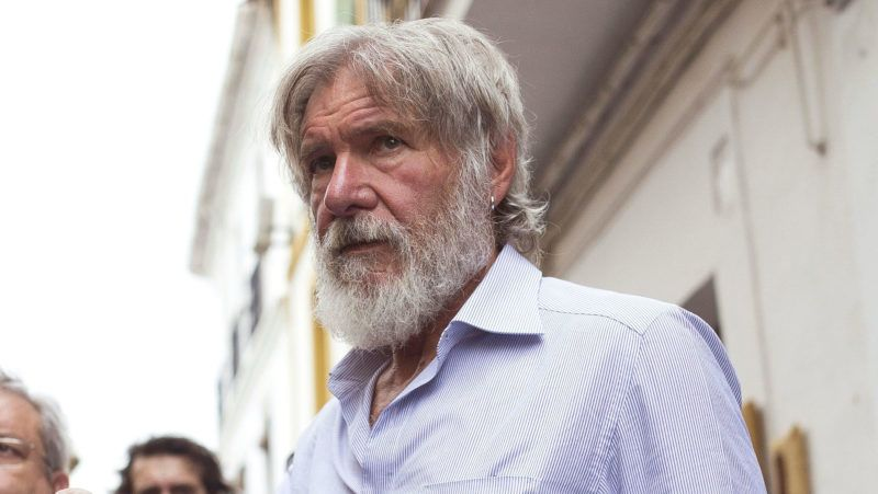 CORDOBA, SPAIN - JUNE 28:  Harrison Ford is seen visiting the Mosque-Cathedral, World Heritage Site since 1984 on June 28, 2016 in Cordoba, Spain.  (Photo by Europa Press/Europa Press via Getty Images)