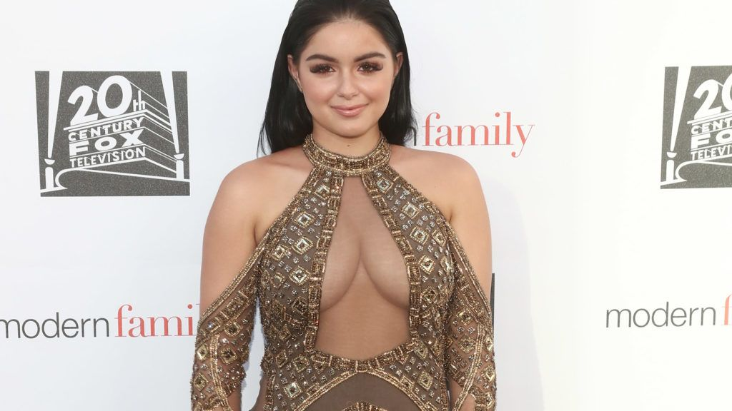 """NORTH HOLLYWOOD, CA - MAY 03:  Ariel Winter attends ABC's """"Modern Family"""" ATAS Event at Saban Media Center on May 3, 2017 in North Hollywood, California.  (Photo by Todd Williamson/Getty Images)"""