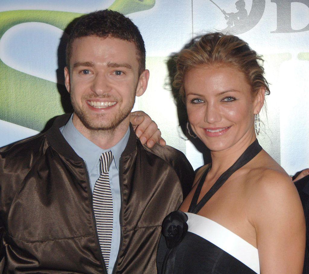 Justin Timberlake and Cameron Diaz (Photo by Jon Furniss/WireImage)