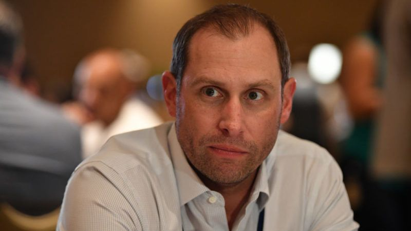 ORLANDO, FL - MARCH 27: Miami Dolphins head coach Adam Gase answers questions during the AFC & NFC coaches breakfast at the 2018 NFL Annual Meetings at the Ritz Carlton Orlando, Great Lakes on March 27, 2018 in Orlando, Florida. (Photo by B51/Mark Brown/Getty Images)