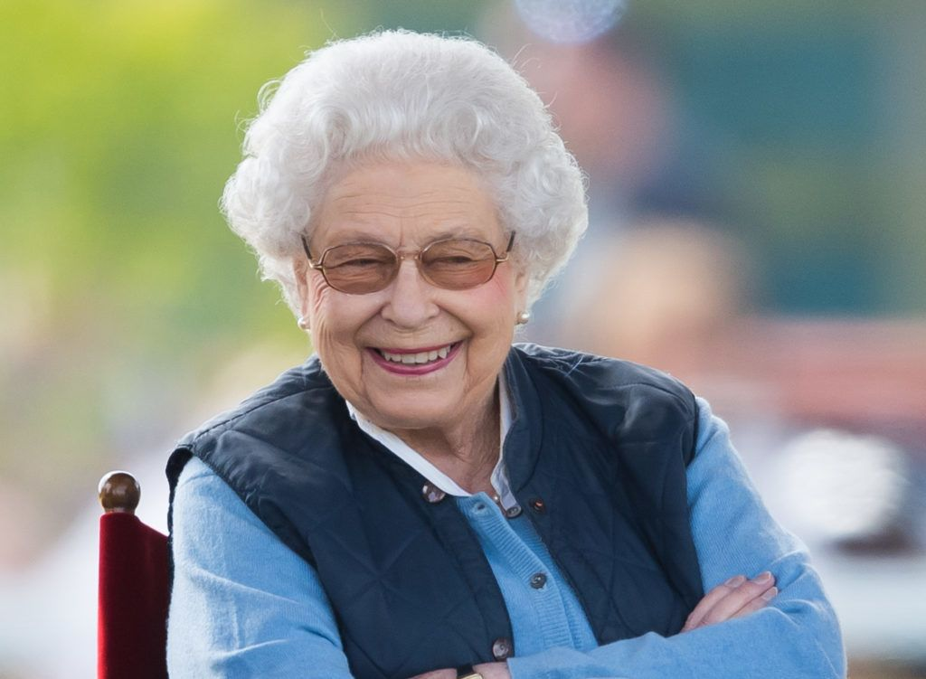 WINDSOR, ENGLAND - MAY 09:  Queen Elizabeth II attends the first day of the Royal Windsor Horse Show on May 9, 2018 in Windsor, England. The Royal Windsor Horse Show is hosted in the private grounds of Windsor Castle and is attended by members of the Royal family including the Queen.on May 9, 2018 in Windsor, England.  (Photo by Samir Hussein/WireImage)