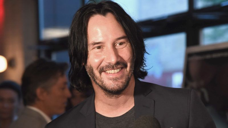 NEW YORK, NY - JULY 11:  Actor Keanu Reeves attends the 'Siberia' New York premiere at The Metrograph on July 11, 2018 in New York City.  (Photo by Gary Gershoff/WireImage)