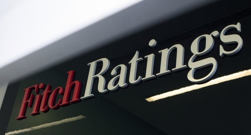 2557375 Russia, Moscow. 01/19/2015 Fitch Ratings agency logo. Vitaliy Belousov/Sputnik
