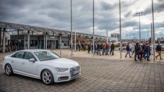 Image: 73861378, Németh Sándor elnök és Csalogány György elnökhelyettes interjú az Audi Hungária Független Szakszervezet által szervezett sztrájkról. 2019.02.04., Place: Győr, Hungary, License: Rights managed, Model Release: No or not aplicable, Property Release: Yes, Credit: smagpictures.com